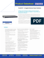 XS712T 10 Gigabit Ethernet Smart Switches