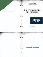 Caso Antonio La Filosofia de Husserl 1934