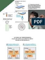 Termometria e Dilatação Térmica