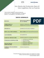 PLANEACION Protocolo Uso de La Fuerza 2015