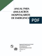 manual de simulacros hospitlarios
