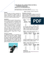 Experimento 7 - Interferometro de Difraçao