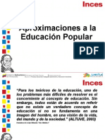 Aprox Educacion Popular Word