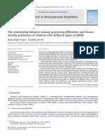 1-s2.0-S0891422211000096-main tipos de ADHD e suas diferenças de processamento