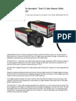 Digital Pyrometry Re-Invented - New 2-Color Sensor Metis Models M311 & M322