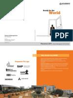 KSOM Placement Brochure 2014