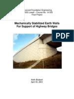 Walls for Support of Highway Bridges _ Good