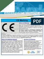 Ce Marking Fact Sheets Li Go Een