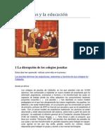 Los Jesuitas y La Educación