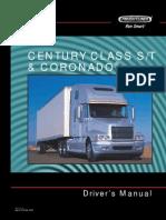 Century Class St and Coronado Driver's Manual