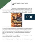 The Amazing Spider Man DVDRip De Espana Latino Descargar dos mil doce