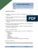 Evaluación y desarrollo de proveedores