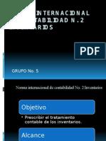 Presentacion NIC 2 Contabilidad