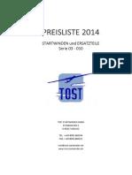 PREISLISTE winden2014