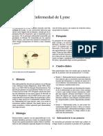 Garrapatas - Enfermedad de Lyme