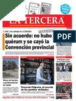 Diario La Tercera 10.03.2015