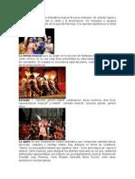 Generos Musicales Opera Opereta Zarzuela