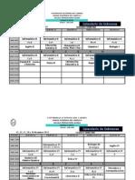 Calendario Examenes SD1 Marzo 2015