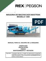 1300 Maxtrak Manual 02ES 090606