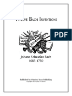 Bach Inventions Trumpet