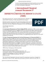 DIPHENYLMETHANE DIISOCYANATE (MDI)