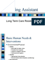 Nursing Assistant - Long-Term Care Resident