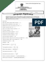 El Lenguaje Algebraico y Sus Expresiones