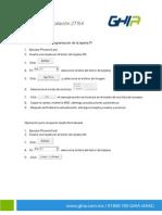 Manual de Insta Laci on 27154