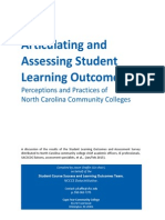student learning outcomes and assessment 3