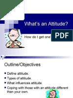 Attitude Presentation