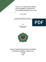 Proposal Tugas Akhir FT TTL Unjani 2015
