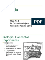 Biologia Clase 2
