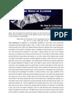 Kashmir Saphires - Paper