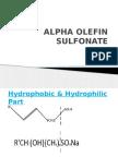 Alpha Olefin Sulfonate Ppt