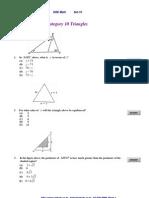 GRE Math 강좌 Set-10