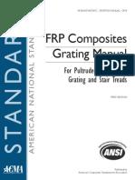 FRP Composites Grating Manual