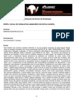 PERFIL VOCAL DE CORALISTAS AMADORES DO ESTILO GOSPEL