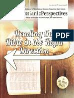January-February 2015 Messianic Perspectives