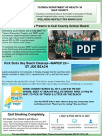 Department of Health-Gulf County March 2015 Wellness Newsletter