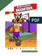 Documento Orientador Basquetebol