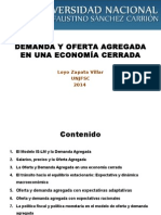 04 Demanda y Oferta Agregada en Una Economia Cerrada1