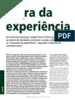 A Era Da Experiência