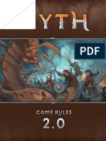 Myth Rulebook 2nd ED