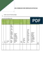 academic curriculum action plan csl 522