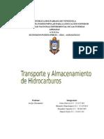 Transporte y Almacenamiento de Hidrocarburos