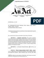 Colorado climate bill