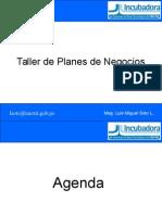 Taller de Planes de Negocios