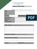 Formato REPORTE Matutinos