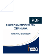 2.6 Ponencia Hidrogeologia de La Costa Del Perú