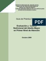 GPC Control Nutricional Adulto Mayor